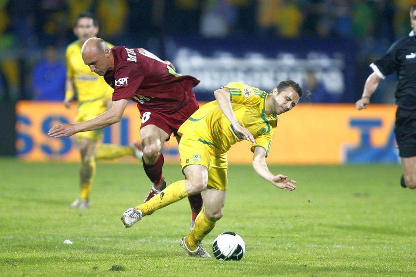 Lucian Sânmărtean, în finala FC Vaslui - CFR Cluj din 2010