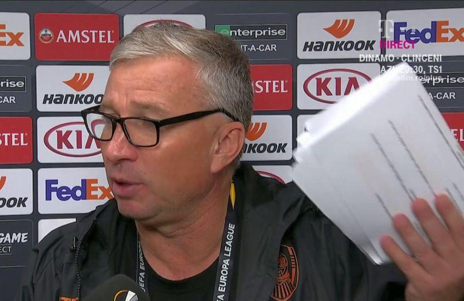 Dan Petrescu a acuzat din nou arbitrajele din Liga 1