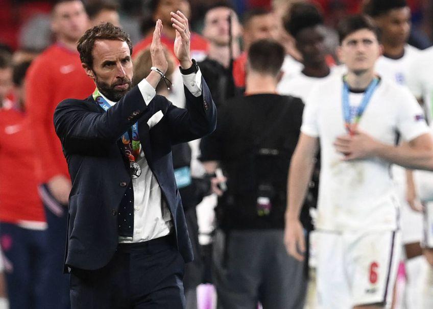 Gareth Southgate ar putea fi înnobilat de Regină după ce a calificat Anglia în finala Euro 2020, foto: Imago