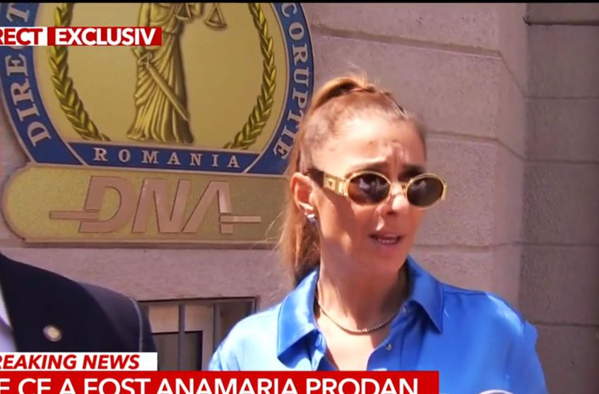 Anamaria Prodan, chemată la DNA / Captură Antena 3