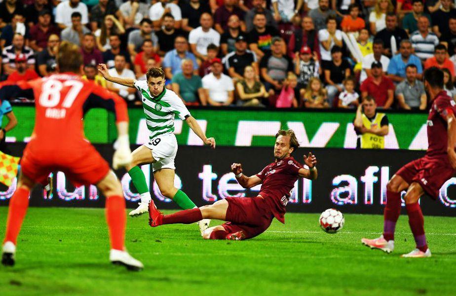 În tur, Celtic și CFR au remizat, 1-1 // foto: Raed Krishan