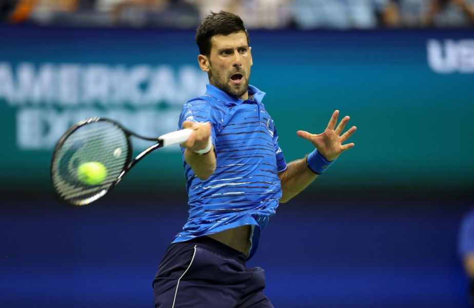 Novak Djokovic la US Open 2019, când a pierdut în optimi de finală FOTO Hepta