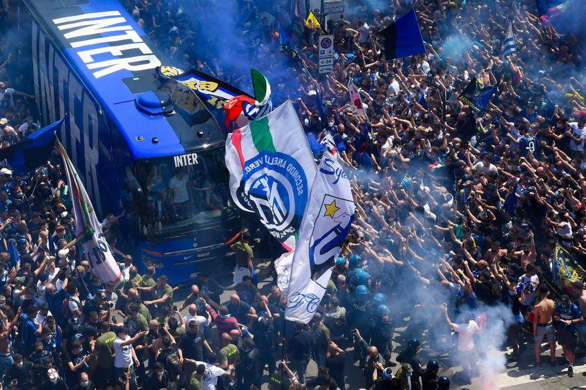 Ultrașii lui Inter Milano sunt unii dintre cei mai vulcanici din Serie A, foto: Imago