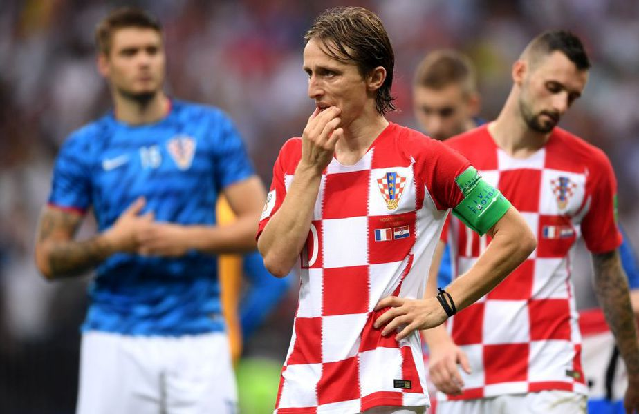 Luka Modric are 127 de selecții la naționala Croației. foto: Guliver/Getty Images