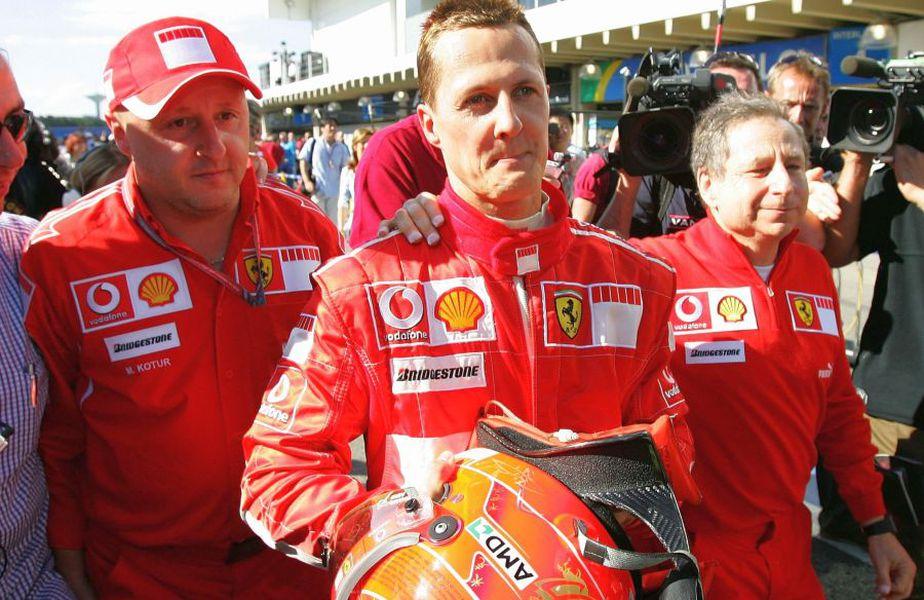 Jean Todt, alături de Michael Schumacher. foto: Guliver/Getty Images