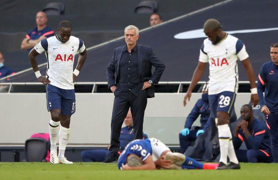 Tottenham a fost învinsă de Everton, scor 0-1 // foto: Guliver/gettyimages