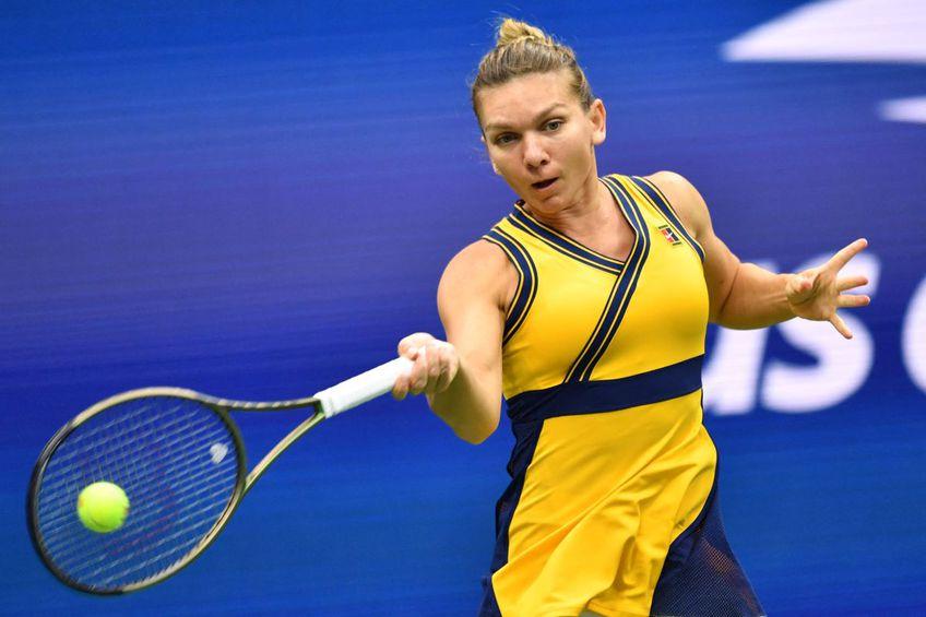 Simona Halep, la US Open // foto: AFP