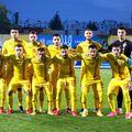 România U21 la meciul cu Ucraina // foto: frf.ro