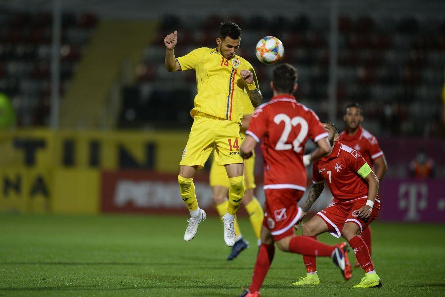 ROMÂNIA U21 - MALTA U21 preliminarii Euro 2021