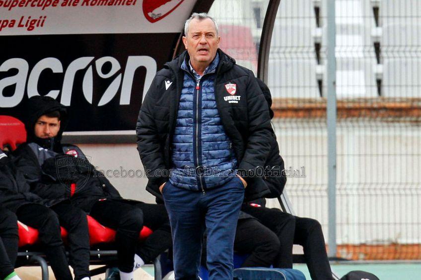 Mircea Rednic / Sursă foto: facebook.com/FC Dinamo Official