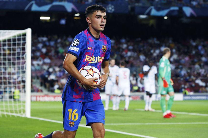 Pedri (18 ani, mijlocaș central) a fost antamat de Barcelona