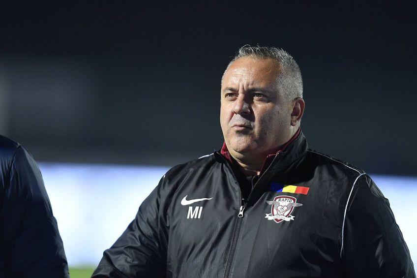 Rapid - CFR Cluj (duminică, ora 20:30). Mihai Iosif, antrenorul alb-vișiniilor, s-a plâns de faptul că echipa sa nu beneficiază de o bază proprie de pregătire.