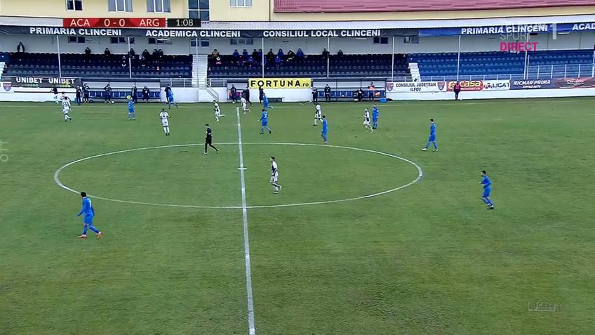 ACADEMICA CLINCENI - FC ARGEȘ, liveTEXT pe GSP.ro