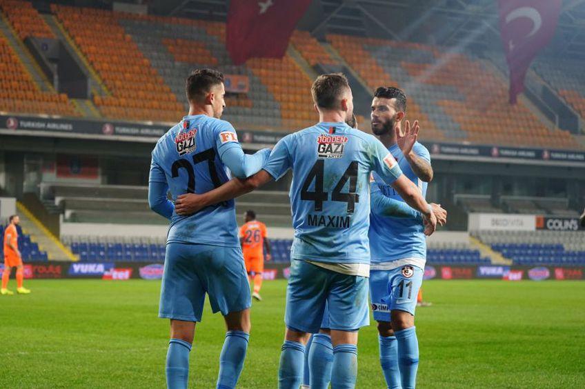 Gaziantep, echipa antrenată de Marius Șumudică, a învins-o pe Bașakșehir, scor 2-1, în runda cu numărul 12 din campionatul Turciei.