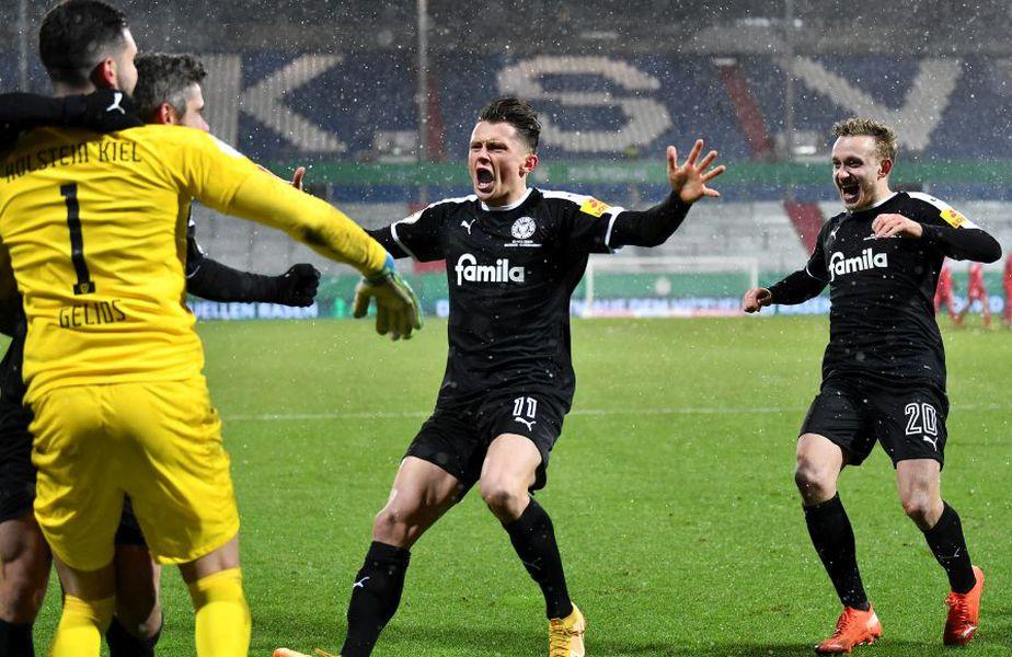 Kiel s-a calificat în optimile Cupei Germaniei // foto: Guliver/gettyimages