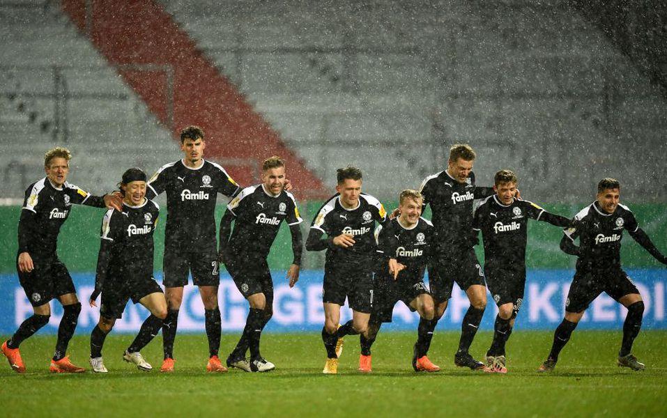 "Kiel - Bayern Munchen, ""16-imi"" Cupa Germaniei"