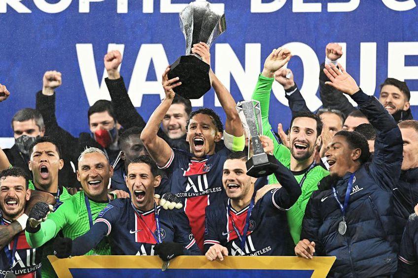 PSG a câștigat Supercupa Franței // foto: Imago