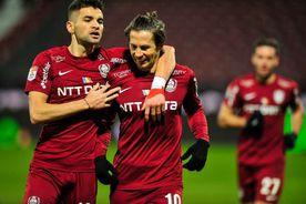 CFR Cluj - Academica Clinceni 3-1 » Campioana o depășește pe Craiova și pune presiune pe FCSB! Clasamentul LIVE