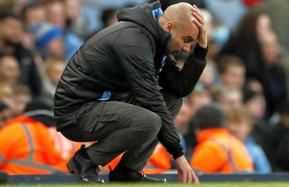 Guardiola ar putea pleca în această vară de la Manchester City. Foto: Reuters