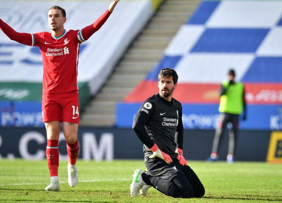 Alisson e în genunchi, Liverpool leagă trei eșecuri în Premier întâia oară cu Klopp FOTO Imago