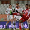 Magaye Gueye a fost unul dintre jucătorii luați la țintă după Dinamo - Sepsi 0-0 / Sursă foto: Cristi Preda