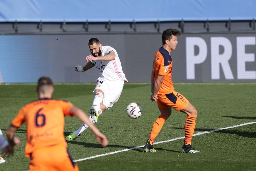 Real Madrid - Valencia 2-0 // 14.02.2021