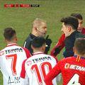 FC Hermannstadt a deschis scorul în minutul 12 al meciului cu FCSB, prin Romario Pires, dintr-un penalty contestat de oaspeți.