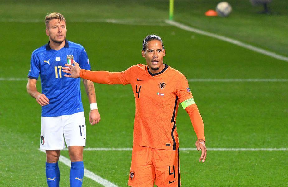 Van Dijk are șanse mari să rateze EURO 2020 // foto: Guliver/GettyImages