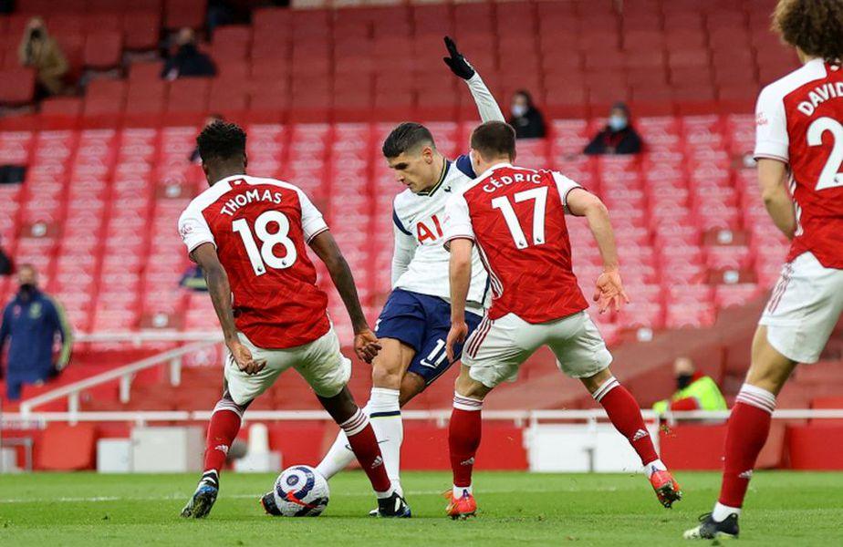 Erik Lamela a marcat în Arsenal - Tottenham // foto: Guliver/gettyimages