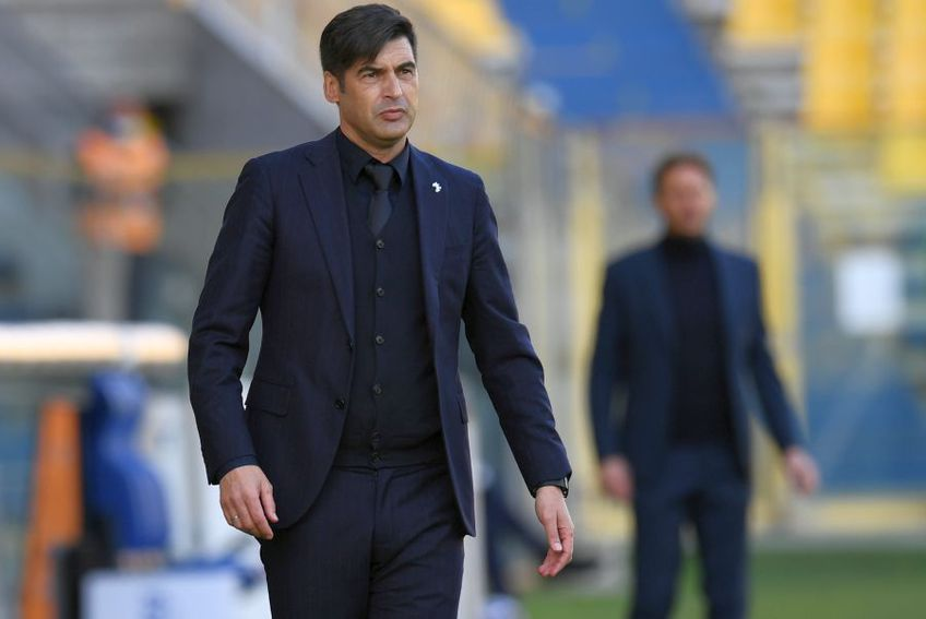 Paulo Fonseca, antrenor AS Roma // foto: Guliver/gettyimages