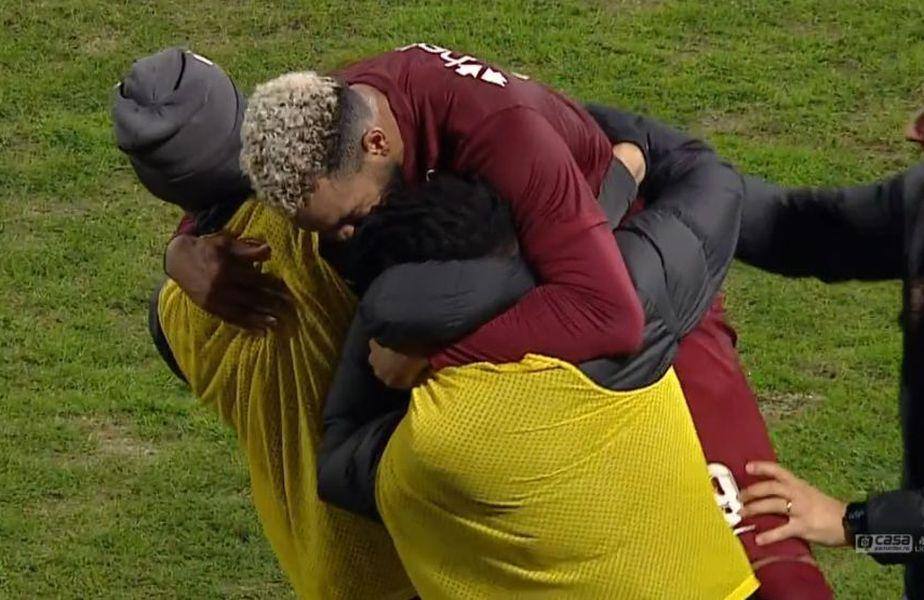 Billel Omrani (27 de ani) a marcat golul de 2-0 al duelului CFR Cluj - Poli Iași, dintr-o fază suspectă de ofsaid.