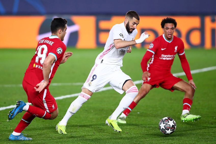 Real Madrid - Liverpool 3-1 // foto: Guliver/gettyimages