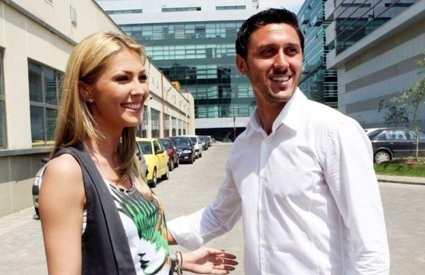Ilinca Vandici și Ciprian Marica