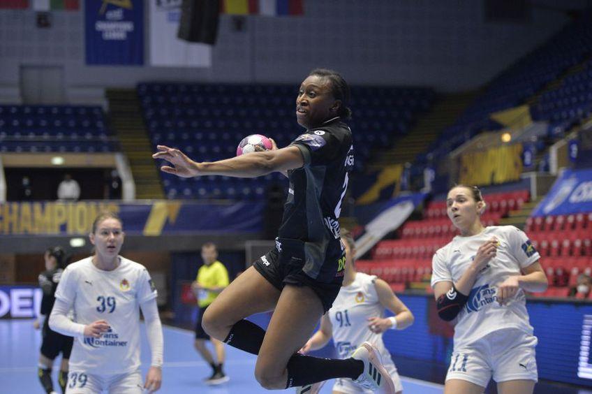 Siraba Dembele în meciul cu ȚSKA Moscova de la București FOTO Cristi Preda