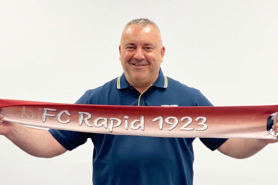 Mihai Iosif FOTO Facebook FC Rapid 1923