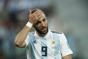 """Gonzalo Higuain, de la cel mai iubit la cel mai criticat jucător din Argentina: """"De acolo mi se trage"""""""