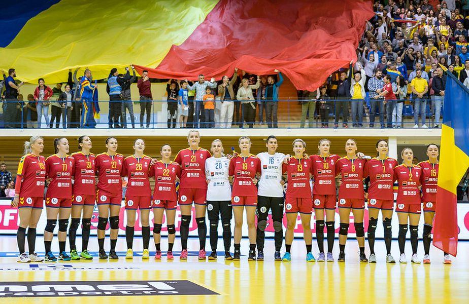 Naționala României de handbal FOTO Dan Potor