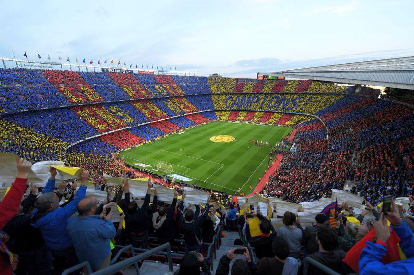 Camp Nou, stadionul unde un jihadist a plănuit un atac cu bombă în timpul El Clasico - duelul dintre Barcelona și Real Madrid // sursă foto: Guliver/gettyimages
