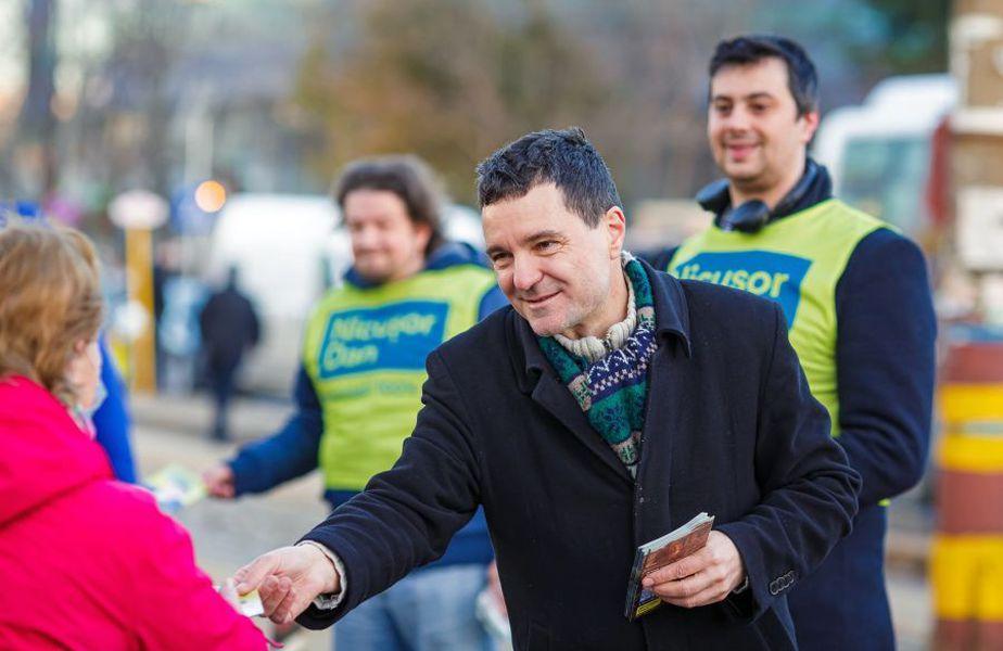 Nicușor Dan, candidatul susținut de PNL la Primăria București // sursă foto: Facebook @ Nicușor Dan