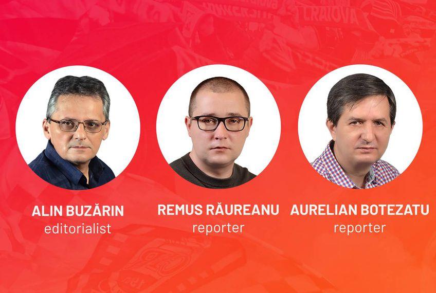 Vocile Gazetei » Alin Buzărin, Remus Răureanu și Aurelian Botezatu