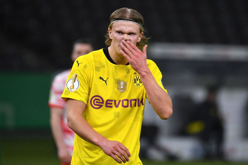 """Borussia Dortmund a câștigat joi Cupa Germaniei, după 4-1 în finală cu Leipzig. La finalul partidei, Erling Haaland (20 de ani), autorul unei """"duble"""", a oferit declarația serii."""