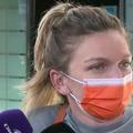 Simona Halep (29 de ani, 3 WTA) a revenit în România după accidentarea din Italia și spune ca vă sta pe tușă între 3 și 5 săptămân