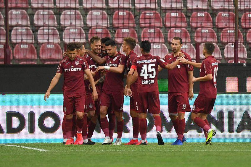CFR Cluj și FCSB sunt primele două clasate din Liga 1 FOTO: Raed Krishan