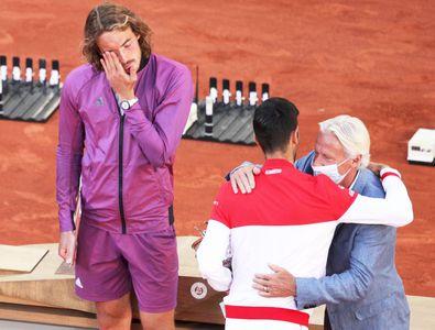 Veste teribilă primită de Tsitsipas înainte de finala cu Djokovic