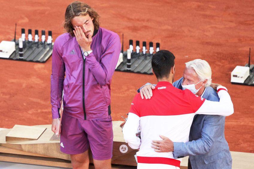 Stefanos Tsitsipas a fost învins de Novak Djokovic în finala Roland Garros // foto: Guliver/gettyimages