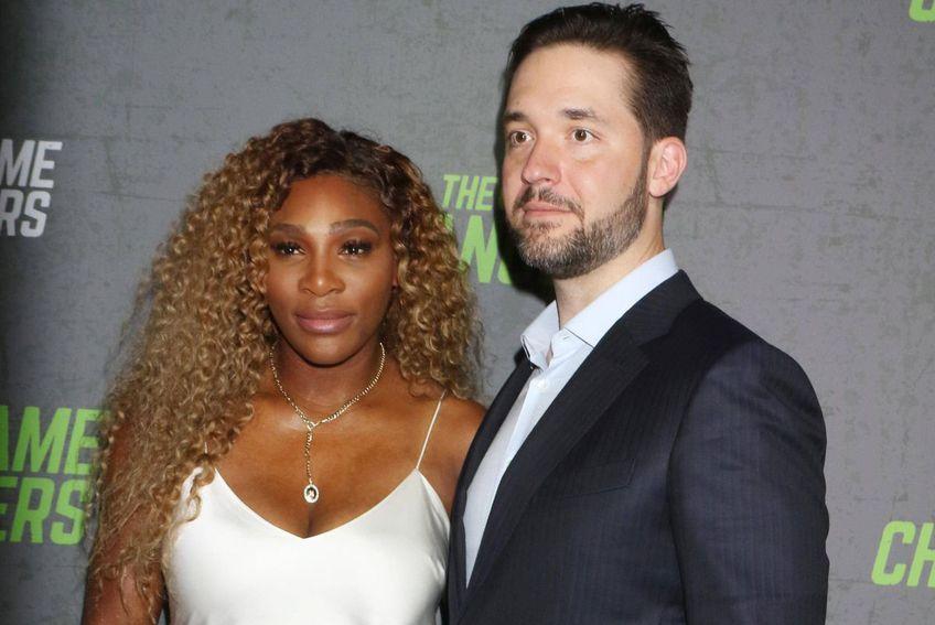 Alexis Ohanian, alături de Serena Williams // foto: Imago