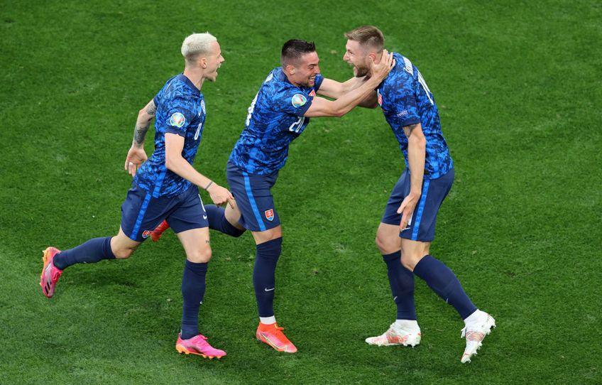Slovacia a învins-o pe Polonia, scor 2-1, în prima etapă a grupelor Euro 2020