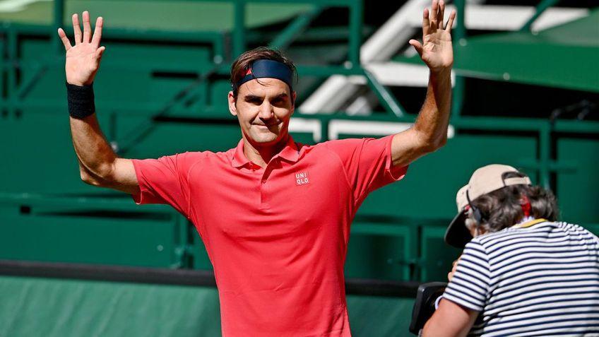 Federer, prima victorie pe iarba inainte de Wimbledon