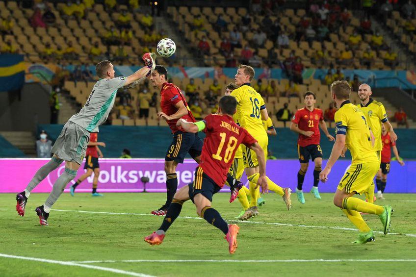 Spania și Suedia au remizat, scor 0-0, în prima rundă a grupelor de la Euro 2020. E primul meci de la acest European în care nu se marchează.