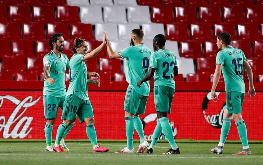 Real Madrid este aproape campioană în La Liga